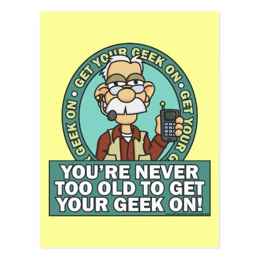 Get Your Geek On Postcard