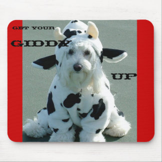 GET YOUR, GIDDY, UP MOUSE MATS