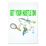 Get Your Hustle On 13 Cm X 18 Cm Invitation Card