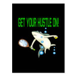 Get Your Hustle On Post Card