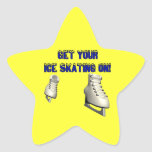 Get Your Ice Skating On Stickers