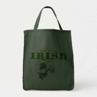 Get Your Irish On Leprechaun Bag