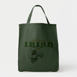 Get Your Irish On Leprechaun Bag