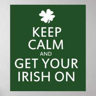 Get your Irish On Poster