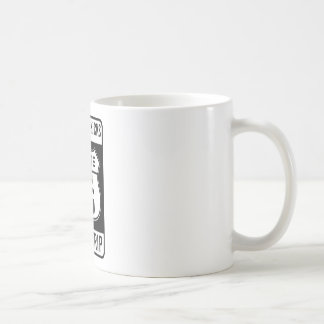 Get Your Kicks On Route 66 Basic White Mug