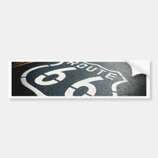 Get Your Kicks On Route 66 Bumper Sticker