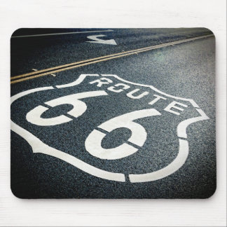 Get Your Kicks On Route 66 Mouse Mat