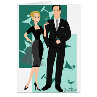 Get Your Martinis Ready! Greeting Card