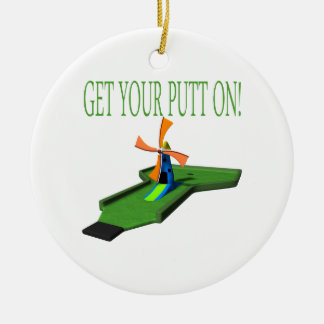 Get Your Putt On Christmas Ornament