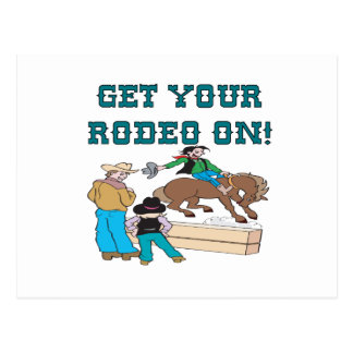Get Your Rodeo On Postcard