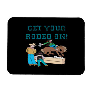Get Your Rodeo On Flexible Magnet