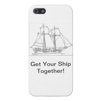 Get your ship together iPhone 5/5S cover