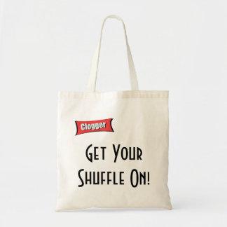 Get Your Shuffle On! Shopping bag Bag