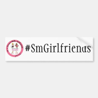 Get your Social Media Girlfriends Hashtag ON Bumper Sticker