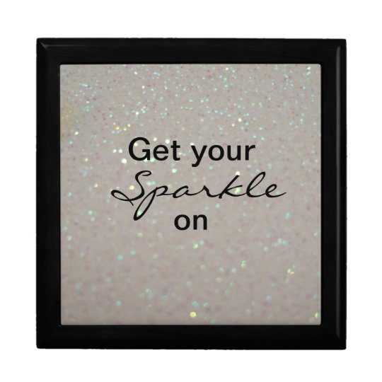 Get your Sparkle on - fun pink glitter