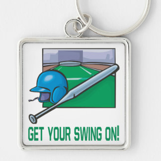 Get Your Swing On Key Chains