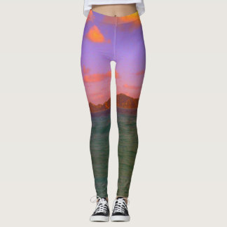 Get Your Tropical On Leggings