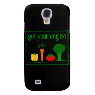 Get Your Veg On! With Assorted Veggies Galaxy S4 Case