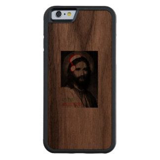 Get your wallets ready - Holiday Humor Carved® Walnut iPhone 6 Bumper Case