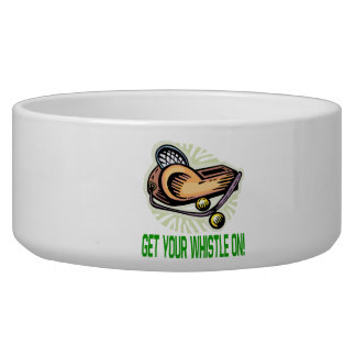 Get Your Whistle On Pet Bowl