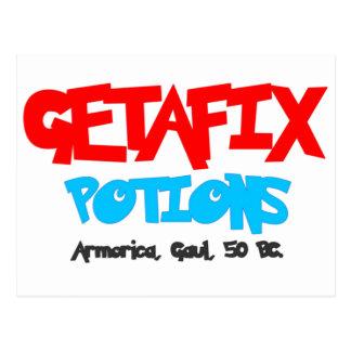 Getafix Potions Gaul Postcard