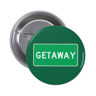 Getaway, Road Marker, Ohio, USA Pin