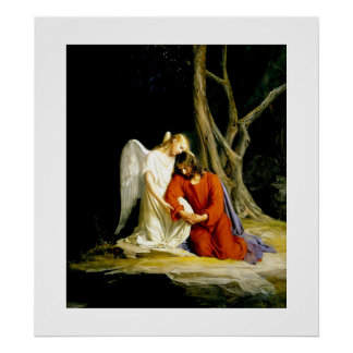 Gethsemane  by Carl Bloch. Poster