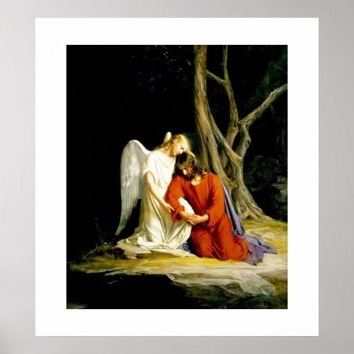 Gethsemane  by Carl Bloch. Poster