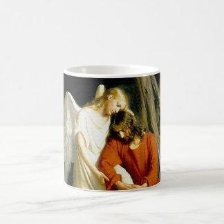 Gethsemane by Carl Heinrich Bloch 1805 Basic White Mug