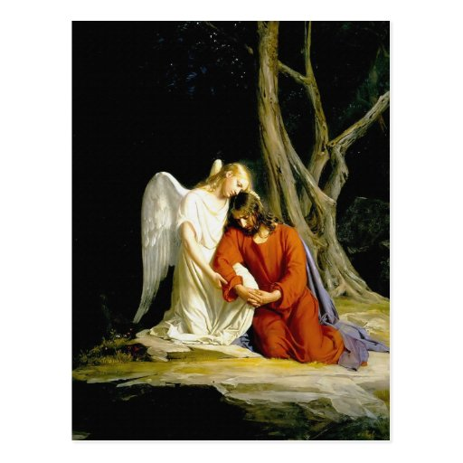 Gethsemane by Carl Heinrich Bloch 1805 Postcards