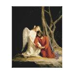 Gethsemane Digitally Restored Stretched Canvas Prints