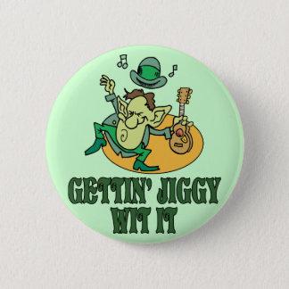 Gettin' Jiggy Wit It 6 Cm Round Badge