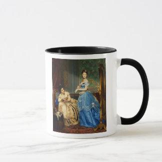 Getting Dressed, 1869 Mug