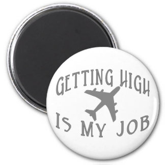 Getting High Airline Pilot Magnet