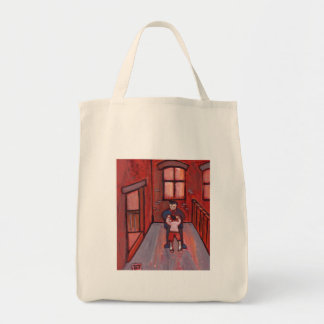 Getting hit by stepfather canvas bags
