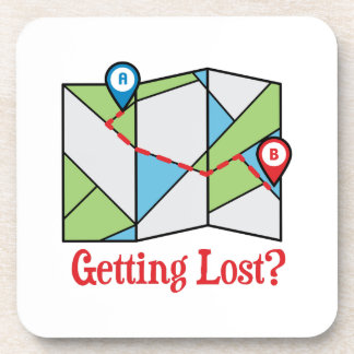 Getting Lost? Drink Coaster
