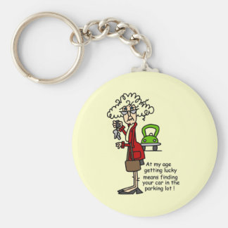 Getting Lucky Humor Keychains