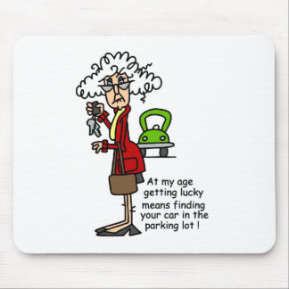 Getting Lucky Humor Mouse Pad