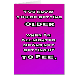 Older people greeting cards zazzle getting old birthday card bookmarktalkfo Images