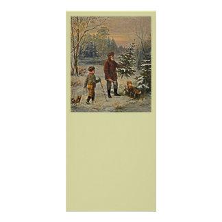 Getting the Christmas Tree Custom Rack Card