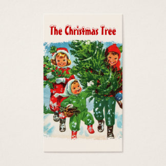 Getting The Christmas Tree Gift Tags