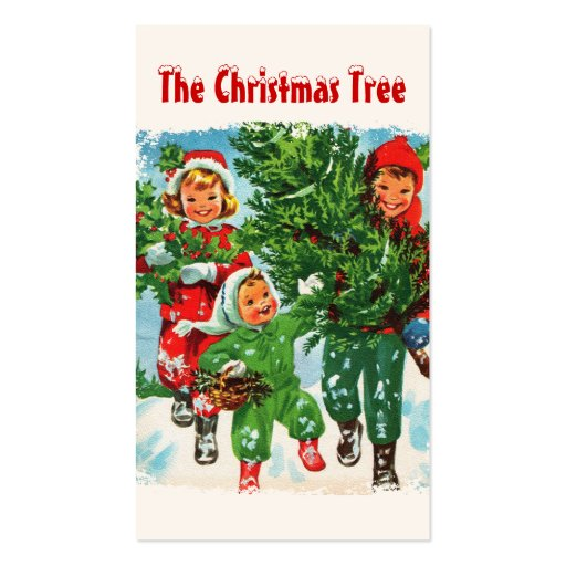 Getting The Christmas Tree Gift Tags Business Cards