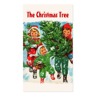 Getting The Christmas Tree Gift Tags Pack Of Standard Business Cards