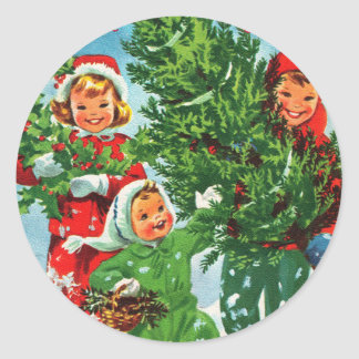 Getting The Christmas Tree Stickers