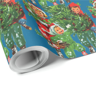 Getting The Christmas Tree Wrapping Paper