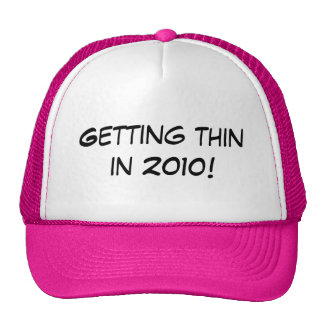Getting thin in 2010! hats