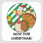 Getting Through the Holiday Season to Christmas Square Sticker