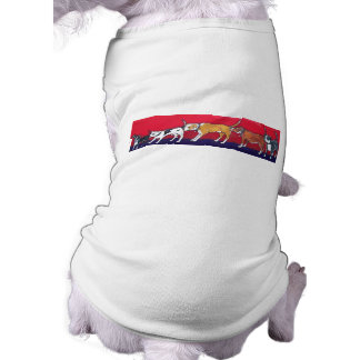 getting to know you sleeveless dog shirt