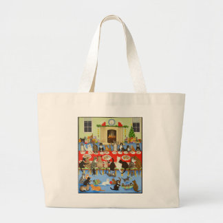 Getting Together 2012 Large Tote Bag