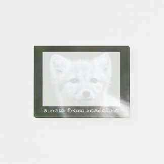 Getty Images | Arctic Fox Kit Post-it Notes